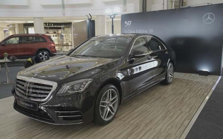 Penampakan depan Mercedes S-Class Edition 50. - istimewa