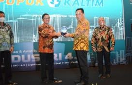 Pupuk Kaltim Raih Penghargaan Lighthouse Industry 4.0 dari Kemenperin