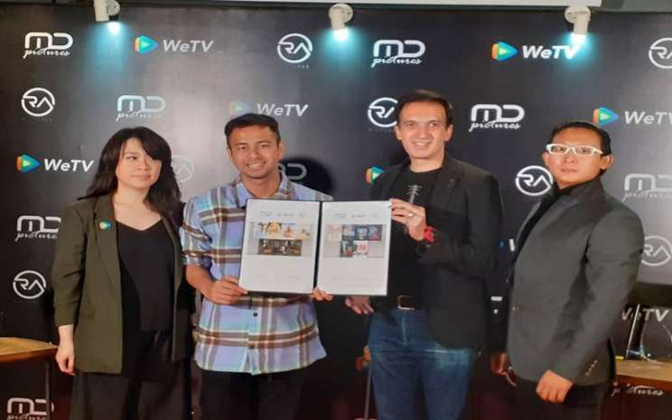 Kerja sama We TV, MD Pictures dan RA Pictures