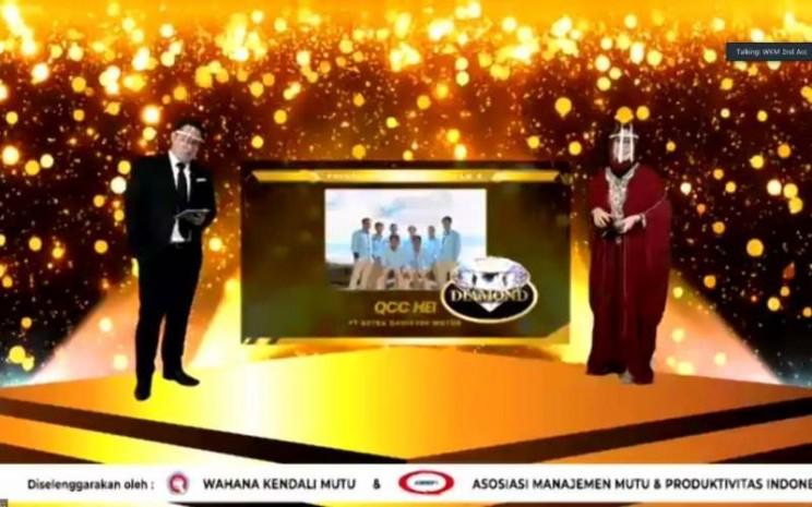 Daihatsu Raih Penghargaan 1 Diamond dan 4 Platinum pada Temu Karya Mutu dan Produktivitas Nasional (TKMPN) XXIV 2020. - istimewa