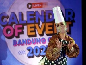 Dinas Kebudayaan dan Pariwisata Kota Bandung Meluncurkan Calendar of Event 2021