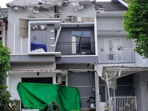 Ledakan Gas Elpiji 12 Kilogram di Bekasi Rusak 3 Rumah Warga