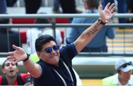 Maradona Meninggal Dunia di Usia 60 Tahun Akibat Serangan Jantung