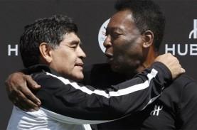 Maradona Meninggal Dunia, Begini Reaksi Pele sang…