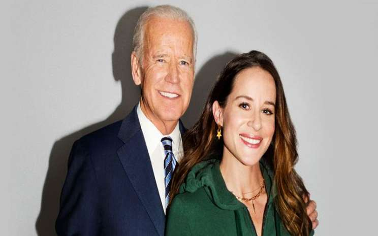 Joe Biden dan Ashley