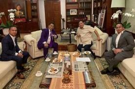 Hotman Paris dan Dua Anaknya Kunjungi Prabowo, Ada…