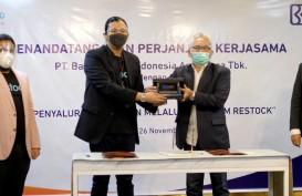 BRI Agro Gandeng Restock untuk Penyaluran Kredit melalui Platform Digital