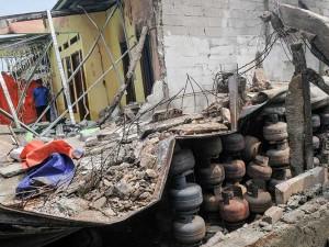 Gudang Penyimpanan Gas Elpiji di Bekasi Meledak
