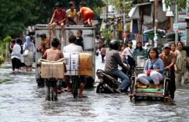 Wah! Banjir Rob Jakarta Sampai ke Kebon Jeruk dan Grogol Petamburan