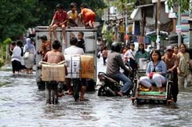 Wah! Banjir Rob Jakarta Sampai ke Kebon Jeruk dan…