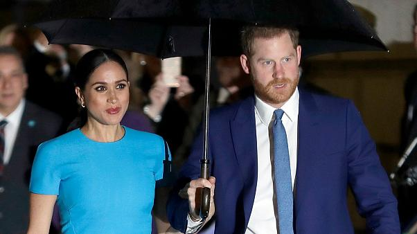 Megan Markle dan Pangeran Harry keguguran anak kedua. - Euronews