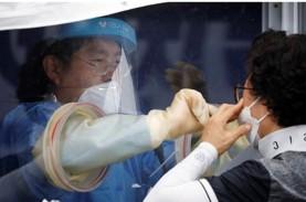 Penambahan Kasus Harian Covid-19 di Korea Selatan…