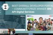 Mantap! Kalahkan 32 Perusahaan Global, BNI jadi Pengembang API Portal Terbaik