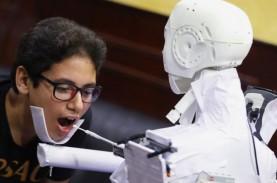 RS di Mesir Uji Coba Robot yang Bisa Lakukan Tes Virus…