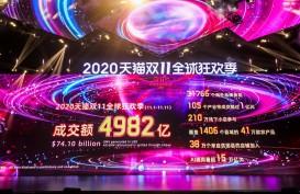 Kemeriahan Festival Belanja 11.11 dari Alibaba