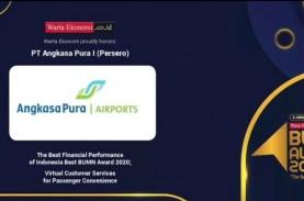 Angkasa Pura I Borong 2 Penghargaan pada Ajang Indonesia…