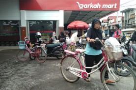 Minimarket di Payakumbuh Bagi-bagi Untung ke Warga