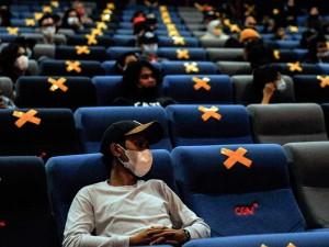 Terapkan Protokol Kesehatan, Konser Musik digelar di Bioskop