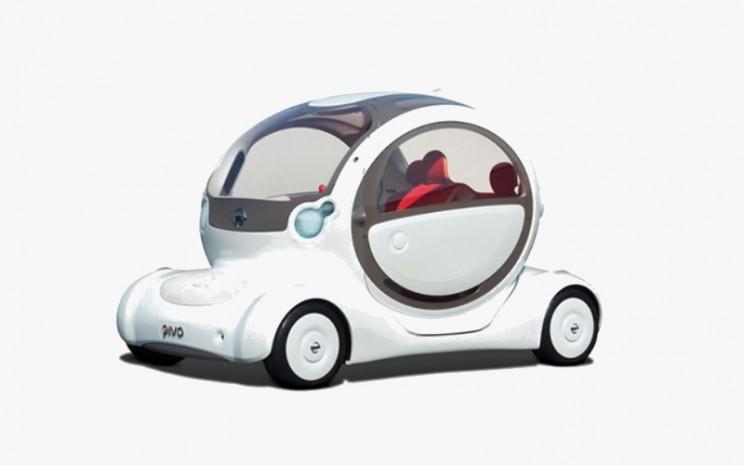 Nissan Pivo EV dirancang untuk wanita muda perkotaan yang mencari mobil impian mereka.  - Nissan