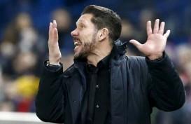 Pemain Atletico Madrid Bertumbangan, Simeone Kritik Soal Jadwal