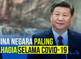 China Jadi Negara Paling Bahagia Selama Covid-19, Kok Bisa Ya?
