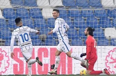 Inter Milan Bikin Sassuolo Derita Kekalahan Pertama, Skor 3–0