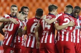 Hasil La Liga : Madrid Tumbang di Kandang, Atletico…