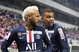 Hasil Lengkap Liga Prancis, PSG Teruskan Hasil Buruk