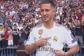 Madrid Apes! Usai Kalah di Kandang, Hazard Kembali…