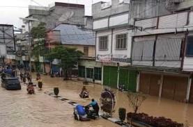 Kota Tebing Tinggi Dilanda Banjir, 3 Pabrik Karet…