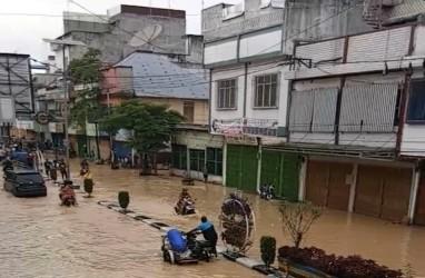 Kota Tebing Tinggi Dilanda Banjir, 3 Pabrik Karet Setop Operasi