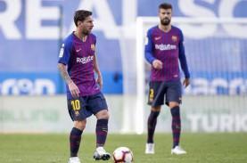 Gerard Pique Yakin Lionel Messi Bertahan di Barcelona
