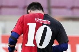 Barcelona vs Osasuna 4–0, Penghormatan Messi untuk…
