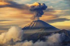 Aktivitas Gunung Semeru Meningkat, Jalur Pendakian…