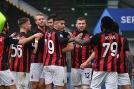 Hasil Lengkap Liga Italia, Milan Menang Tanpa Ibrahimovic