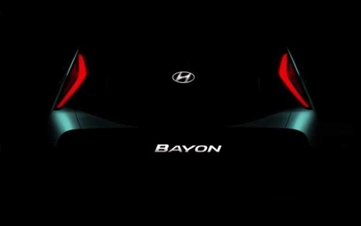 Siluet Hyundai Bayon.  - Hyundai