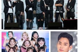 Lee Jung-jae, Kim Soo-hyun, TWICE Raih Penghargaan…