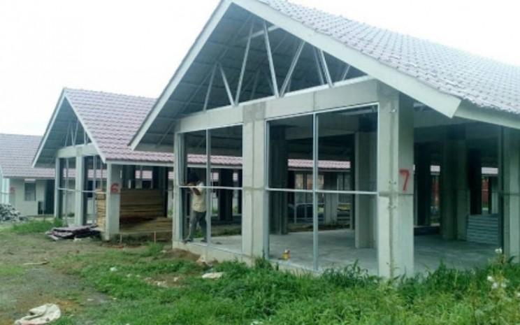 Ilustrasi RISHA, Rumah Instan Sederhana Sehat (RISHA), sebuah metode pembangunan rumah dengan teknologi pracetak atau precast. - Kementerian PUPR