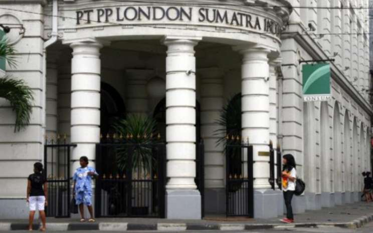 Gedung PT PP London Sumatra Indonesia Tbk di Medan. - Bisnis