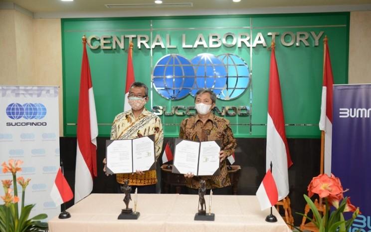 Penandatanganan MoU antara Sucofindo dan BPFK Jakarta - Ist