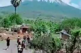 Erupsi Gunung Ile Lewotolok, Ratusan Warga Belum Bisa Dievakuasi