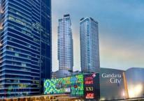 Gandaria City, salah satu proyek andalan PT Pakuwon Jati Tbk di Jakarta. Proyek ini merupakan proyek mixed use yang terdiri dari pusat perbelanjaan, hotel, dan apartemen./pakuwonjati.com