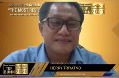 Raih The Best CFO BUMN, Begini Sepak Terjang Dirkeu INAF Herry Triyatno