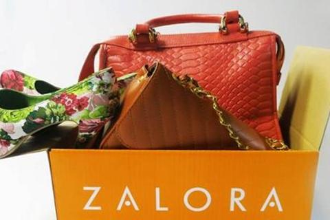 Zalora memberikan diskon belanja online pada 12.12. - ilustrasi