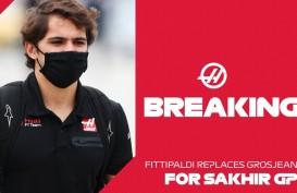 Grosjean Kecelakaan Hebat, Haas Angkat Fittipaldi Jadi Pebalap Pengganti