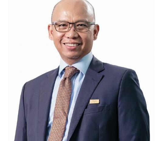 Direktur Utama PT Reasuransi Indonesia Utama (Persero) Kocu Andre Hutagalung. - IndonesiaRe