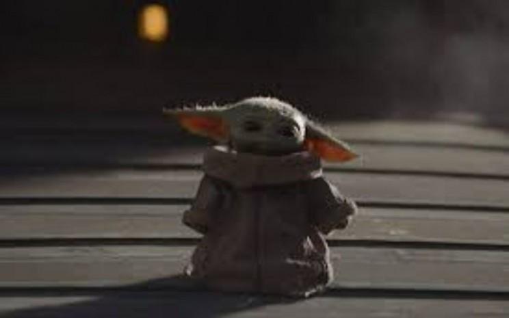 Baby Yoda dalam cuplikan serial The Mandalorian. - Antara/IMDB