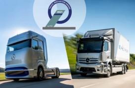 Dua Truk Listrik Mercedes Benz Dinilai Paling Inovatif