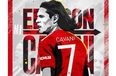 Prediksi MU Vs PSG: Cavani Siap Permalukan PSG di Old Trafford