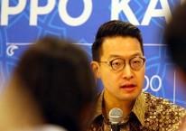 CEO PT Lippo Karawaci Tbk. John Riady memberikan penjelasan saat halalbihalal dengan media, di Jakarta, Kamis (20/6/2019)./Bisnis-Abdullah Azzam